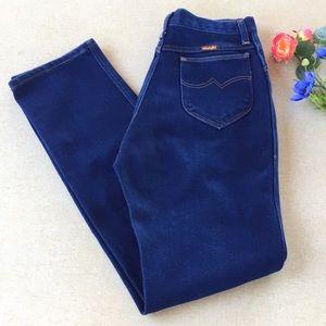 Vintage Wrangler Mom Jeans 29 W Stretch High Waist